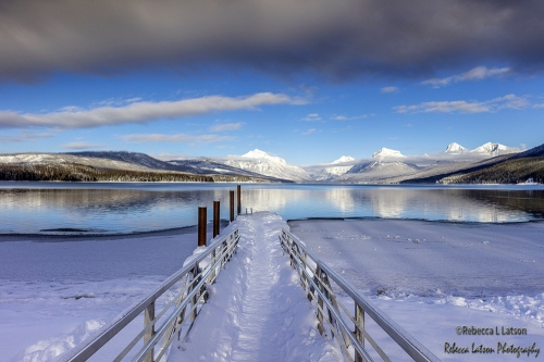 Afternoon At Lake McDonald