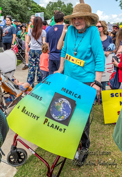 Science Marchers Of All Ages