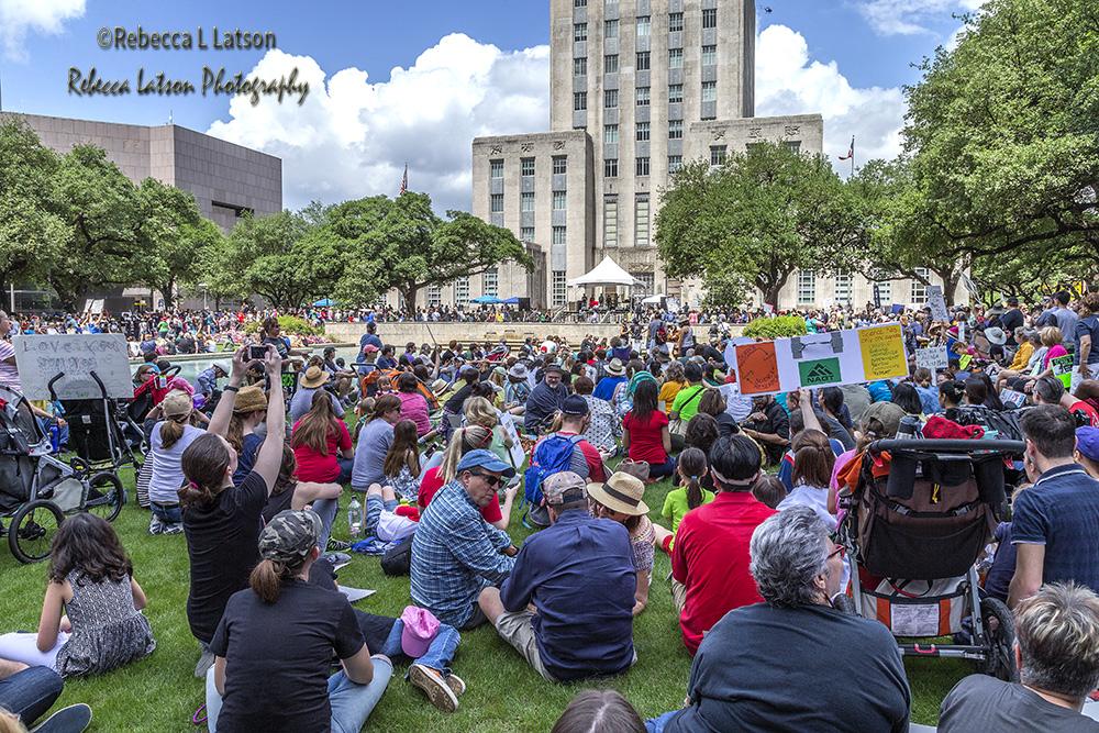 City Hall Crowds