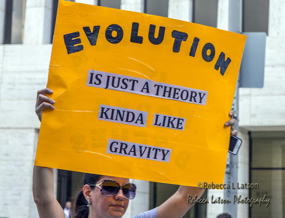 Evolution Sign