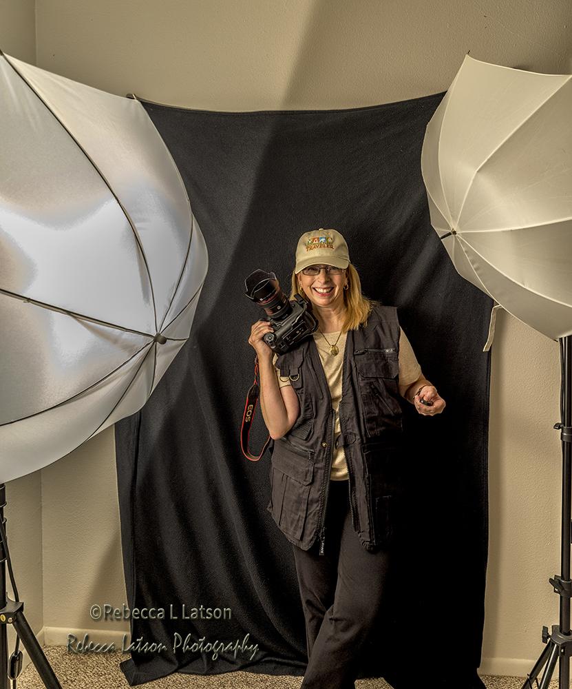 Becky In Her Studio