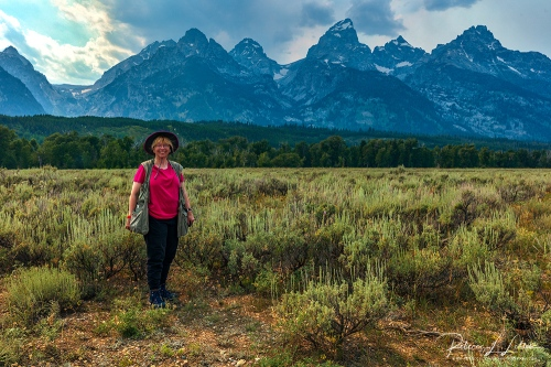Becky In Grand Teton National Park