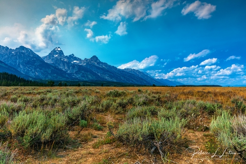 Grand Tetons Scenery