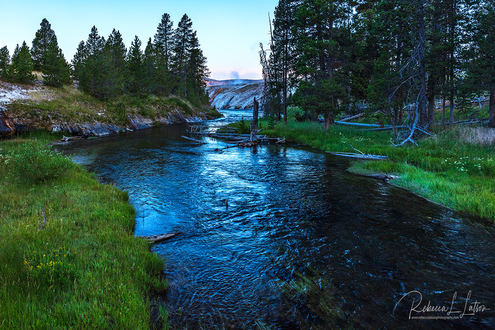 Early Morning Along The Firehole River