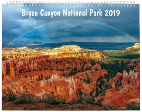 Bryce Canyon 2019 Calendar