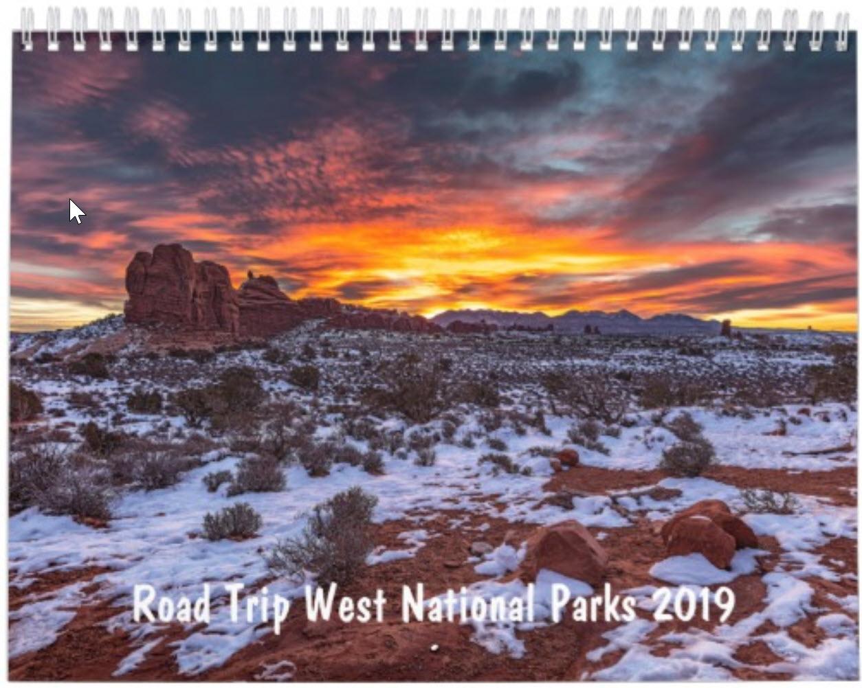 Road Trip West National Parks 2019