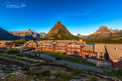 Early Morning At The Many Glacier Hotel