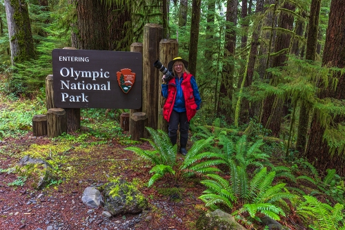 Becky At Olympic National Park