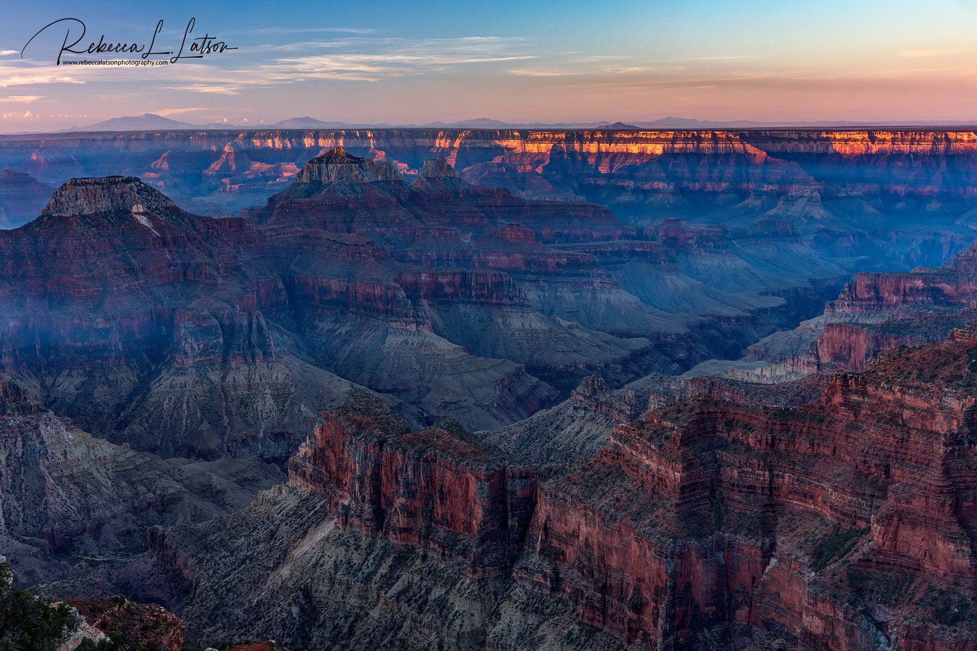 A North Rim Sunrise HDR