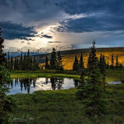 A Stormy Denali Sunrise