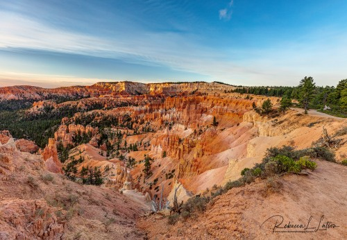 Sunrise Over Bryce Amphitheater
