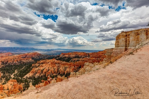 Clouds Over Bryce Amphitheater