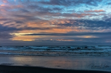 A Pastel Sunrise Over Kalaloch Beach