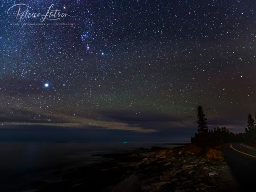 A Starry SKy Over Acadia 2