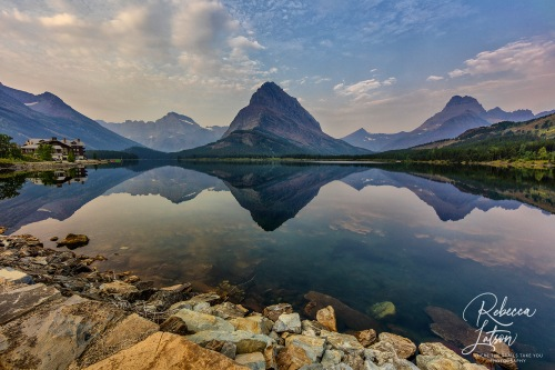 Swiftcurrent Lake Reflections