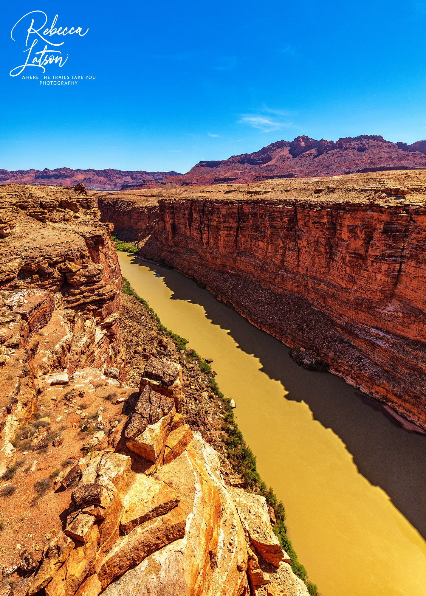 The Colorado River At Navajo Bridge