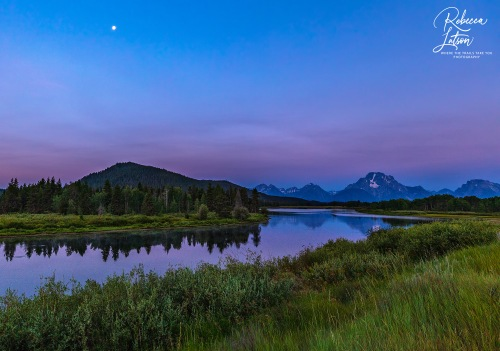 Dawn Over Oxbow Bend