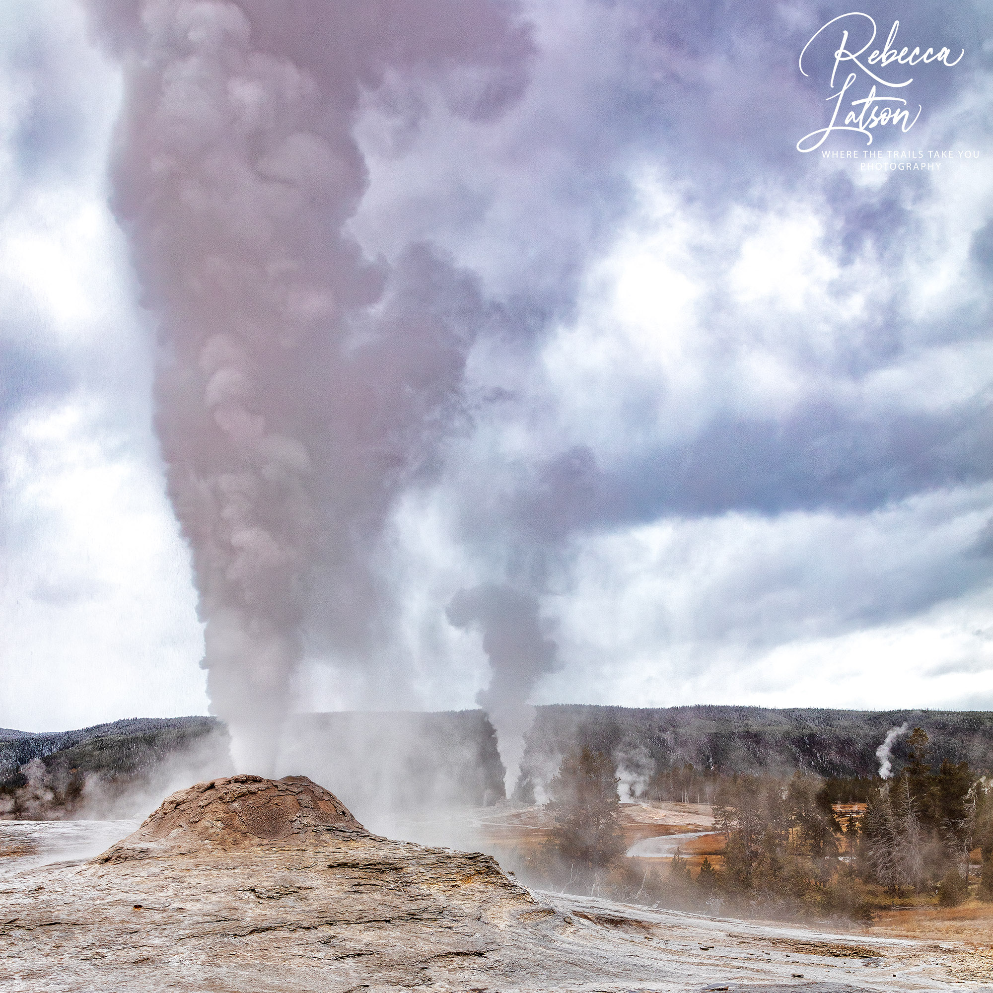 Geyser Eruptions CROP