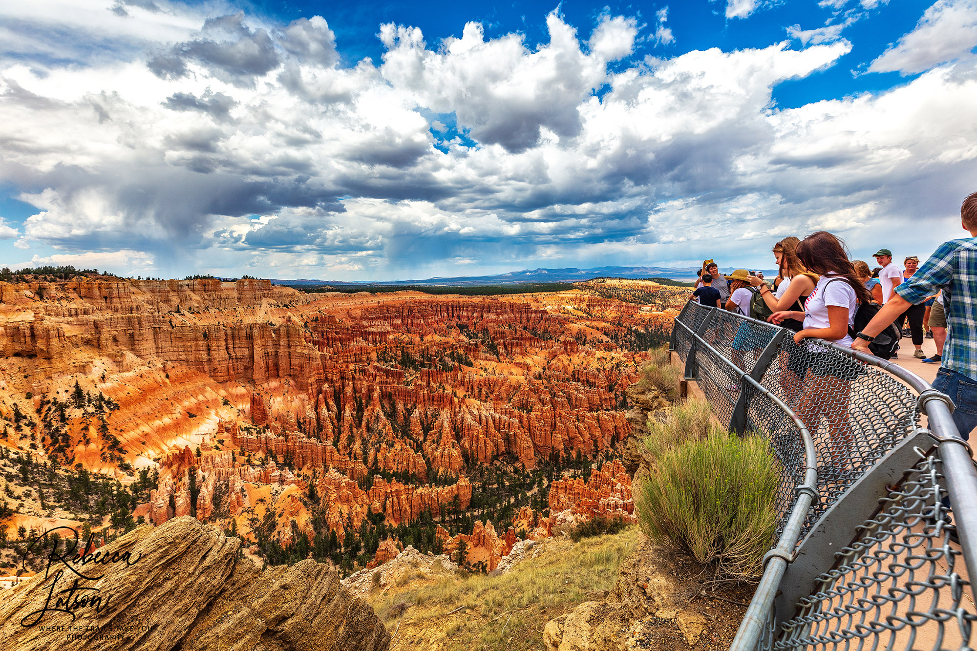 Enjoying The View At Bryce Point