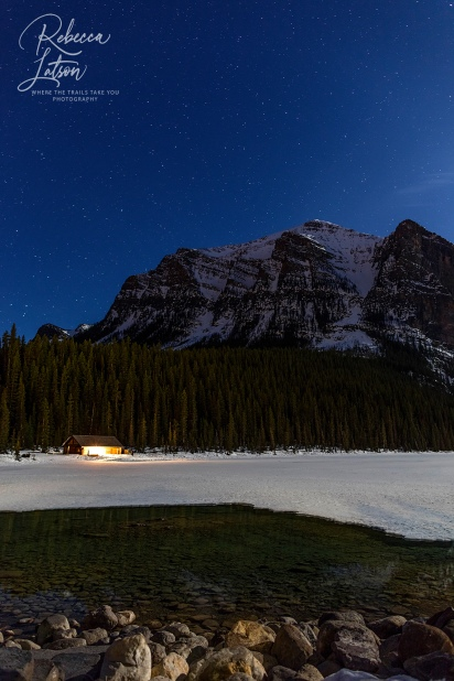 Stars Over Lake Louise