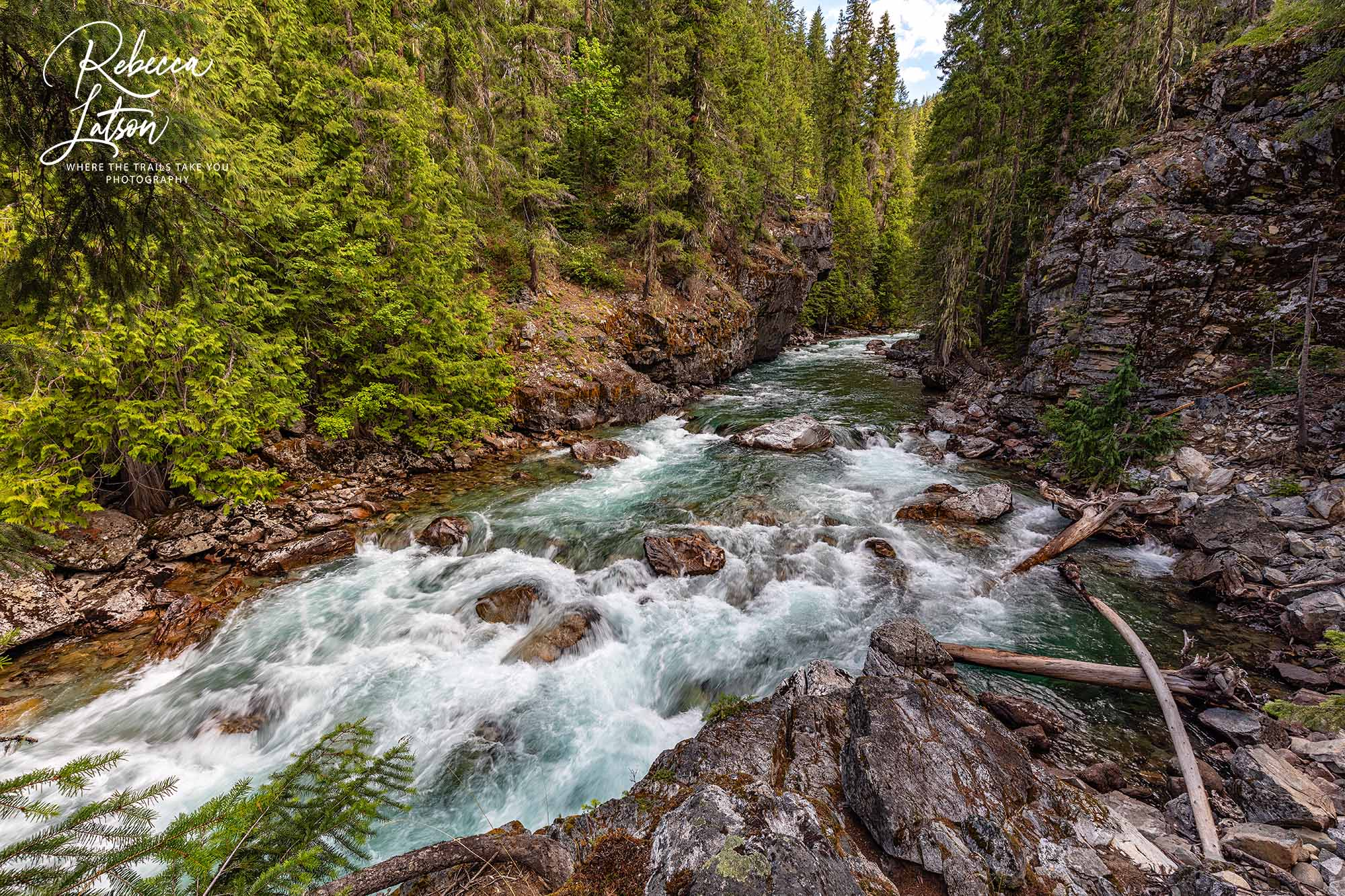 The Stehekin River At High Bridge